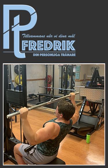 Referenskund Fredrik 18år om PT Fredrik
